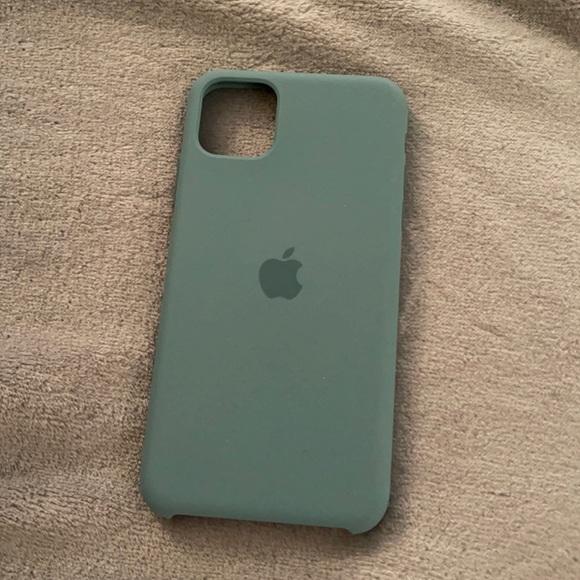Apple Silicone iPhone 11 Pro Max Case - Cactus